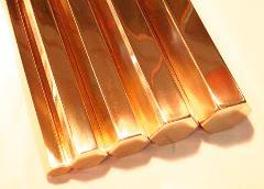 T2镀锡紫铜排型号全 镀锡铜排质量优 镀锡铜排可定制 接地铜排