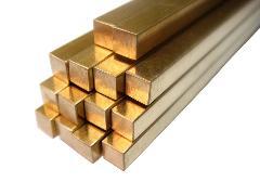 供应优质黄铜棒CZ125四角棒 六角棒