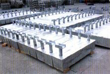供应港口码头设施用铝阳极