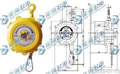 龙升弹簧平衡器,大规格弹簧平衡器【铝制外壳】