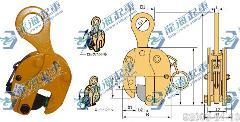 SVC世霸钢板吊夹具,把手式立吊夹具【保质12个月】