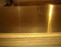供应江西H80黄铜板 H68黄铜板厂家