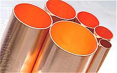 供应进口美标C1100无氧紫铜管,进口紫铜盘管,T2紫铜...