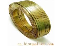 电工扁铜线-2.5mm黄铜扁线-硬态扁铜线