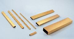 厂价批发h62黄铜矩形管 黄铜扁管 铜管规格表