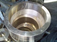 生产加工铝青铜套、大口径铜套、锡青铜套厂家