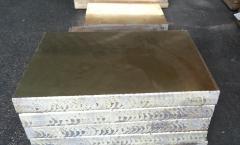 沈阳h70乐器黄铜板、大连h65黄铜板、出口铜板