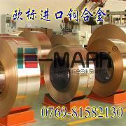 耐疲劳性C17100铍钴铜带