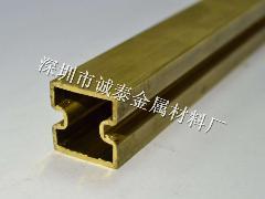 订做H63异型黄铜管 H65黄铜大管100*2.5 80...