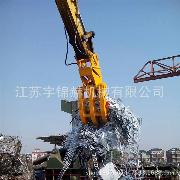 宇锦赫优质装载抓钢机 中小型抓斗机 中型装载机低价促销