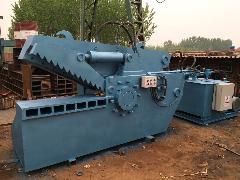 出售:鳄鱼式废钢剪切机