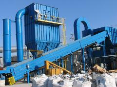 出售:2000马力废钢破碎生产线