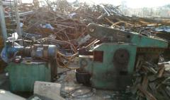 求购:160吨卧式液压废铁剪刀机