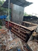 出售:250吨废钢铁皮打包机