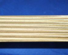 直纹黄铜棒19 20 21 22mm直纹拉花黄铜棒加工