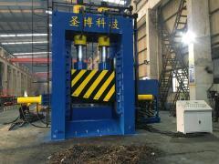 废钢液压剪500吨, 全自动龙门式剪切机
