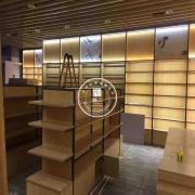 柜人文具店货架图书馆展示柜定制