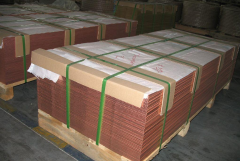 C1100国标紫铜板 雕刻紫铜板 环保紫铜板