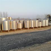 供应:储酒罐 20立方不锈钢储奶罐