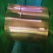 杜邦纸包扁铜线/电话纸包扁铜线 玻璃丝包铜圆线 TU2无...
