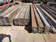 现货出售二手钢便桥材料回收,大量收购工地工字钢销售