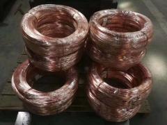 供应T2紫铜线无氧紫铜丝导电红铜线