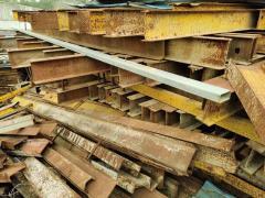 回收建筑材料(钢管、钢筋、槽钢、角铁、电缆线等)