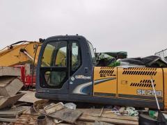 回收工地上的二手设备(挖掘机、塔吊、压装机、挖土机、井字架、搅拌机等)