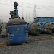 供应:3000L搪瓷反应釜 二手搪瓷反应罐