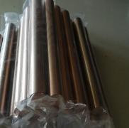 耐磨高导电W80钨铜棒 W80碰焊钨铜电极棒