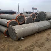 供应:二手列管冷凝器 316列管冷凝器价格 50平方列管冷凝器
