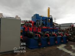 大型废料半自动液压打包机金属废铁屑压块机