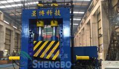 1250吨江苏圣博龙门剪龙门式液压废金属剪断机