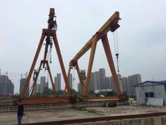 出售十吨龙门吊双电动葫芦