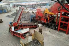 废钢破碎机  废钢粉碎机废钢破碎生产线