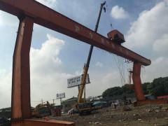 出售:十吨跨度二十二米外旋各八米龙门吊