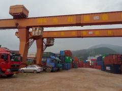出售十吨全包厢龙门吊跨度二十米外旋六米