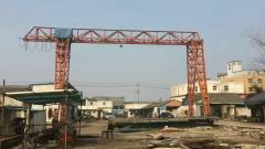 出售:十吨龙门吊跨度十六米单悬五米