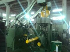 江阴周庄25年生产经验630T铁屠屑饼机