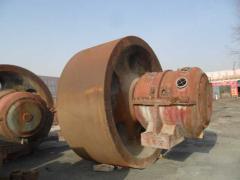 出售:球磨机拖轮 滚带