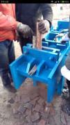 出售:架子管压扁剪切机