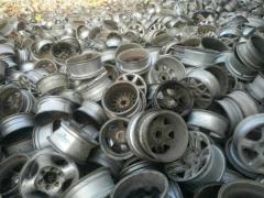 大量收购铝合金轮毂