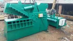 出售:抓钢机 废钢破碎机 钢筋剪断机