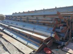 跨度24米高度12.5长度150米完整的一套钢结构