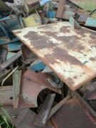 出售:800吨废钢 工角槽切割重废