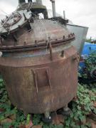 低价出售1吨电加热不锈钢反应釜