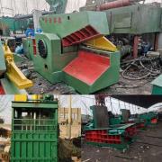 华宏250吨一米刀口鳄鱼式剪切机