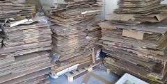 供应:广东惠州出售旧纸箱,纸筒,还有其他纸