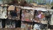 供应:各类废铁压块彩瓦,铁丝,冷板,