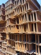 供應:庫存2000噸H鋼處置